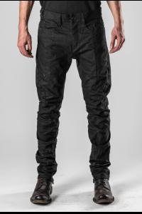 D.HYGEN Coated Curved Jodphur Jeans