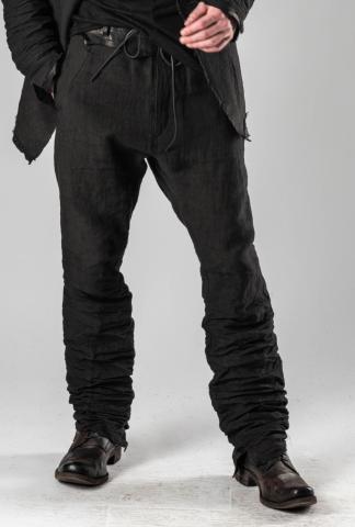 D.HYGEN leather belt trousers