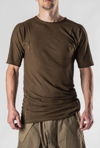 HAMCUS Back-Strap Ribbed T-shirt