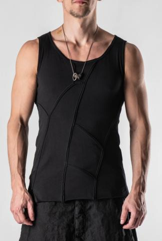 Pal Offner Exposed Seam Tank-Top