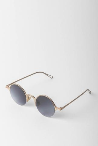 RIGARDS RG0091AG Hammered Sterling Silver Sunglasses