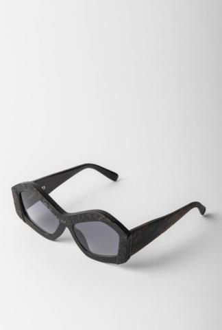 Rigards x KTZ Buffalo Horn Plastron Sunglasses