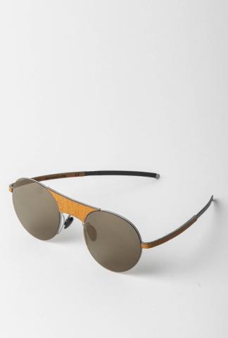 Hapter W01L 52-22 Unibody Steel & Rubber Sunglasses