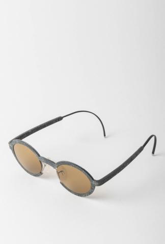 Hapter J01M 49-18 Unibody Steel & Rubber Sunglasses
