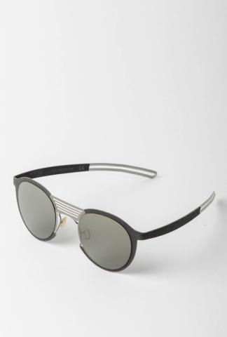 Hapter M07M 47-24 Unibody Steel & Fabric Sunglasses