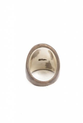 AMY GLENN Horn ring   bronze