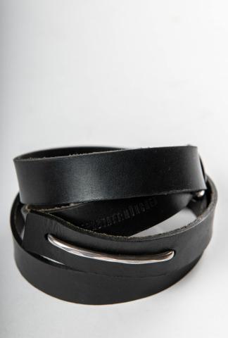 Werkstatt Munchen 14M6440 Hammered Bow Belt