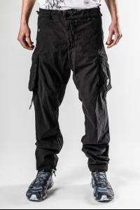 11byBBS P21 Black Dyed Cargo Pants