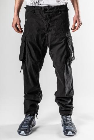 11byBBS P21 Black Dyed Cargo Pants