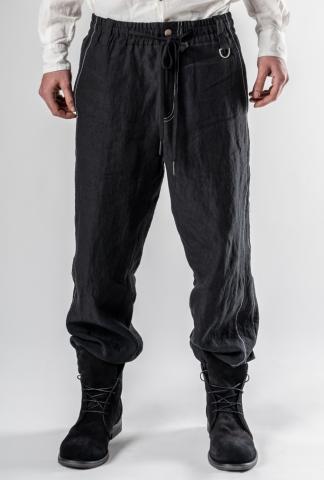 Andrea Ya'aqov Contrast Stitch Cuffed Trousers