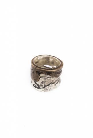 Amy Glenn FIT RING  silver