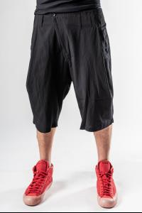 Syngman Cucala Loose Pleated Bermuda Shorts
