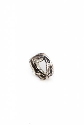 AMY GLENN FIT RING  silver