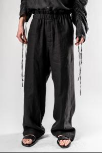 Ann Demeulemeester TROUSERS LIGHT BRUSHED BLACK