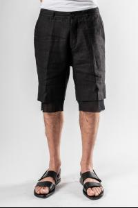 Ann Demeulemeester Layered Shorts (Brushed/Subtle Black)