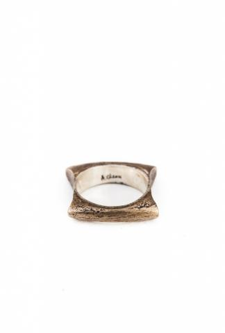 AMY GLENN ROUNDED RECT.RING  bronze
