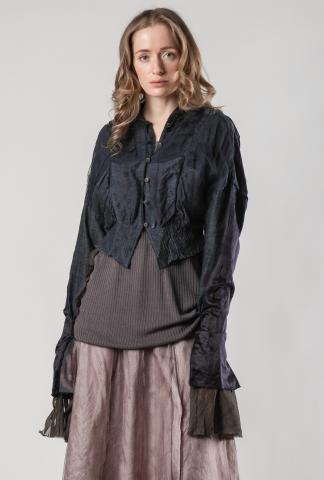 Phaédo Layered Silk Jacket