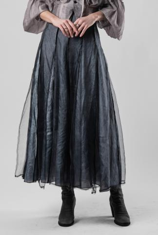 Phaédo Double Layered Silk Skirt