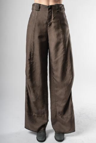 Phaédo Studios Tussah Silk High Waisted Flared Trousers