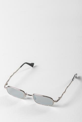 KUBORAUM sunglass&case Z18 48-22 SI silver