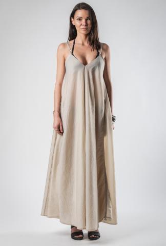 139DEC Adjustable Draped Dress