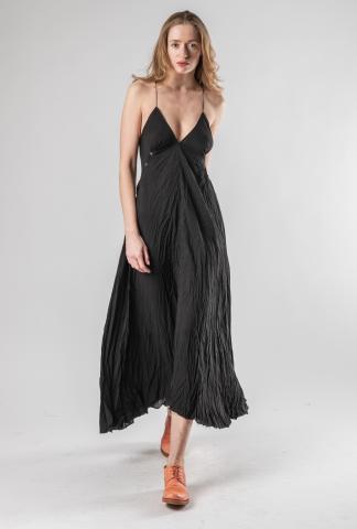 M.A+ D620L Bust Buttoned Long Dress