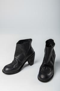 Guidi 3007 Baby Calf Reversed Leather Slip-on Heels