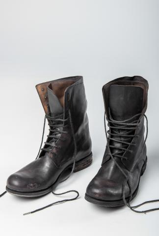A1923 F18 Tall Horse Leather Combat boots