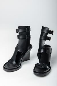 Ann Demeulemeester Strapped Open Wedge