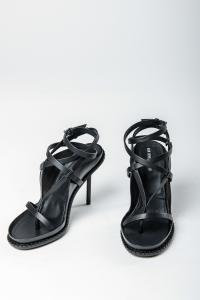 Ann Demeulemeester Laced Stiletto Heels