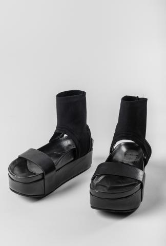 Isabel Benenato Platform Sock Sandals