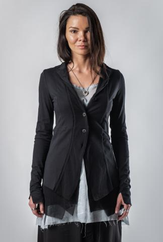 Pal Offner Elongated Mesh Panelled Jacket