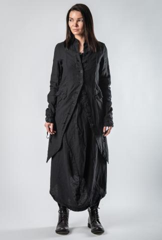 Pal Offner Textured Long Coat