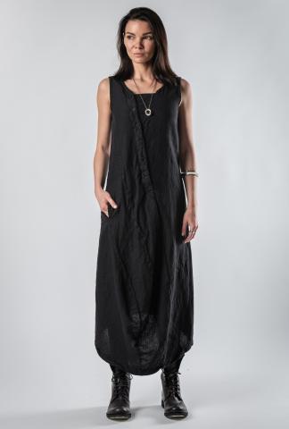 Pal Offner Textured Buttoned Dress