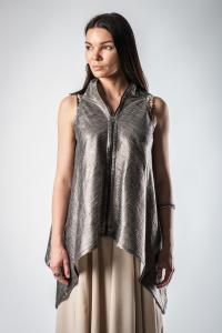 Lemuria Rectangle One-piece Zipped Gilet