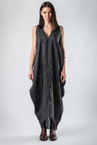 Lemuria Silk Blend Draped Dress
