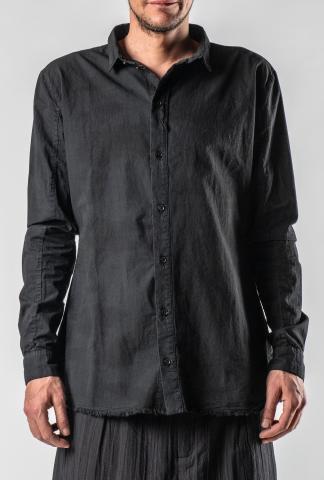 Aleksandr Manamis Raw Hem Shirt