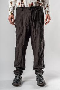 Aleksandr Manamis Metal Blend Trousers with Suspenders