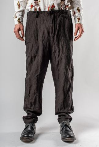 Aleksandr Manamis Metal Blend Pants with Suspenders