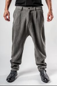 Irofusi Woven Silk Blend Trousers