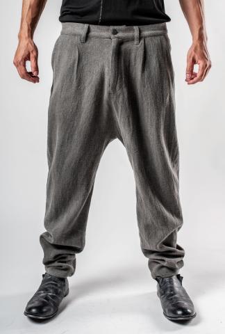 Irofusi Woven Silk Blend Trousers