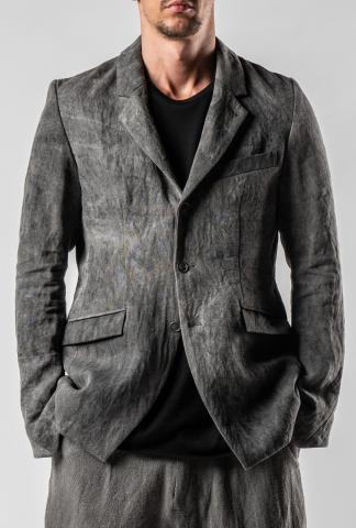 Irofusi Woven Bokuju Dyed Work Jacket