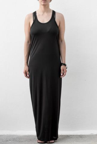 Isabel Benenato Vest dress black