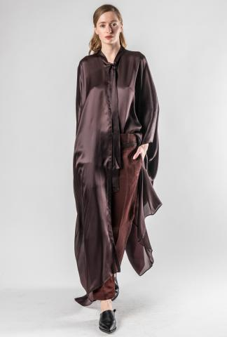 Haider Ackermann long buttoned kaftan/shirt