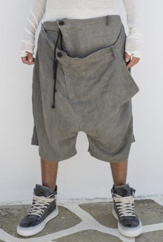 Barbara Bologna Double Waist Loose Shorts