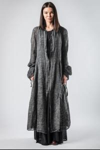 Un-Namable Textured Lightweight Buttoned Coat