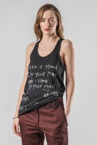 Haider Ackermann Relaxed Tank Top with Print