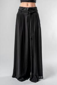 Ann Demeulemeester Wide Rope Skirt Pants (Ewing/Nannette Black)