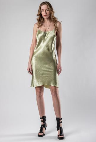 Ann Demeulemeester Open Back Dress (Lambeth/Sage)