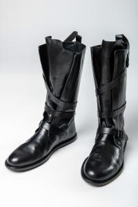Ann Demeulemeester Loop Belt High Boots